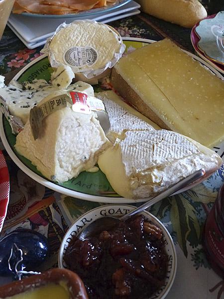 fromages de Noël