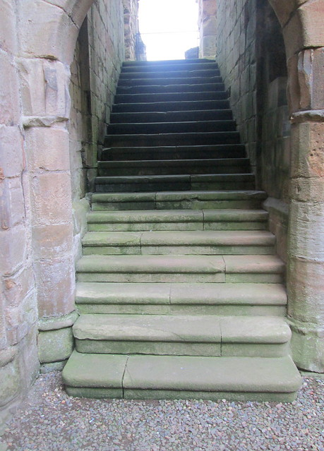 Crichton Castle  stairs