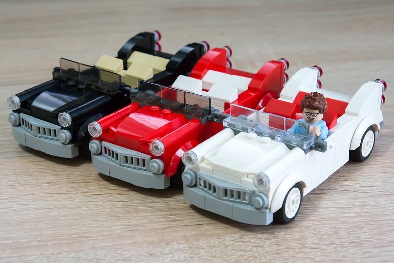 LEGO Cadillac parade