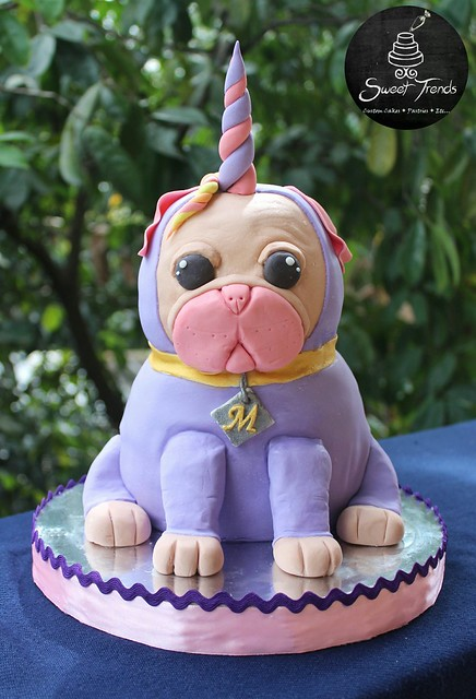 The UniPug Cake by Yam Agudal Ibañez of Sweet Trends