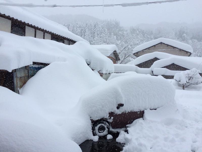 豪雪! ><;