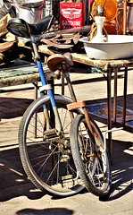 20180211 Second Sunday Flea Market at the Mercado on the West Side of Tucson - Unicycles