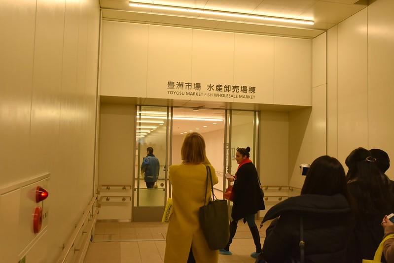 豊洲市場ブロガーツアー