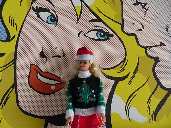 barbie au musée