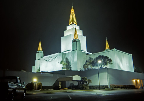 LDS Temple, Oakland - 1986