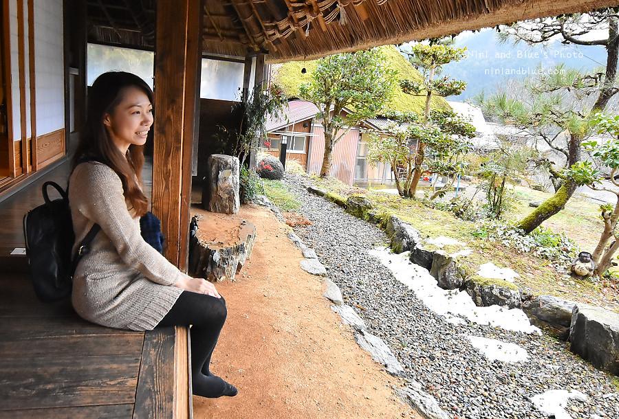 日本京都 美山 茅草屋 交通 巴士22