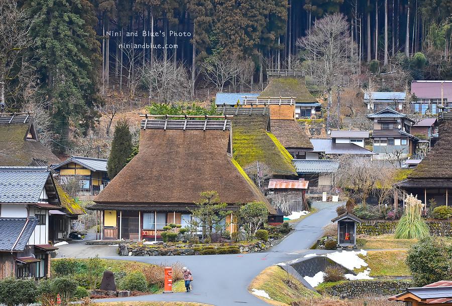 日本京都 美山 茅草屋 交通 巴士10