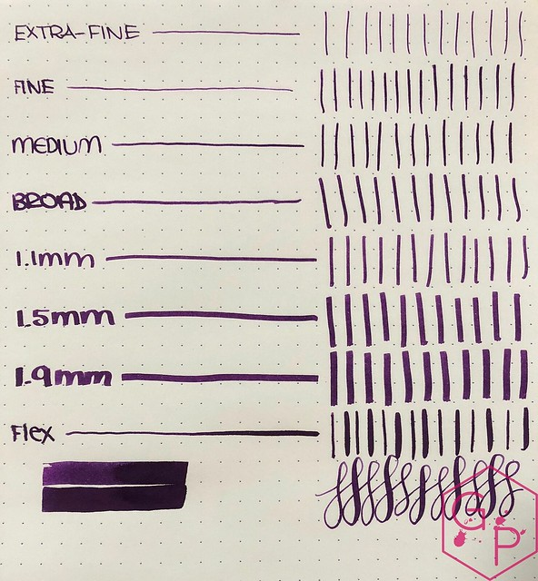 Ink Shot Review KWZI IG Violet #3 @BureauDirect 7