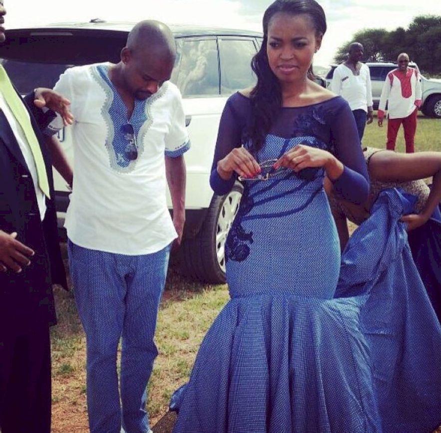 African Traditional Wedding Dresses 2018 | perlabook.com