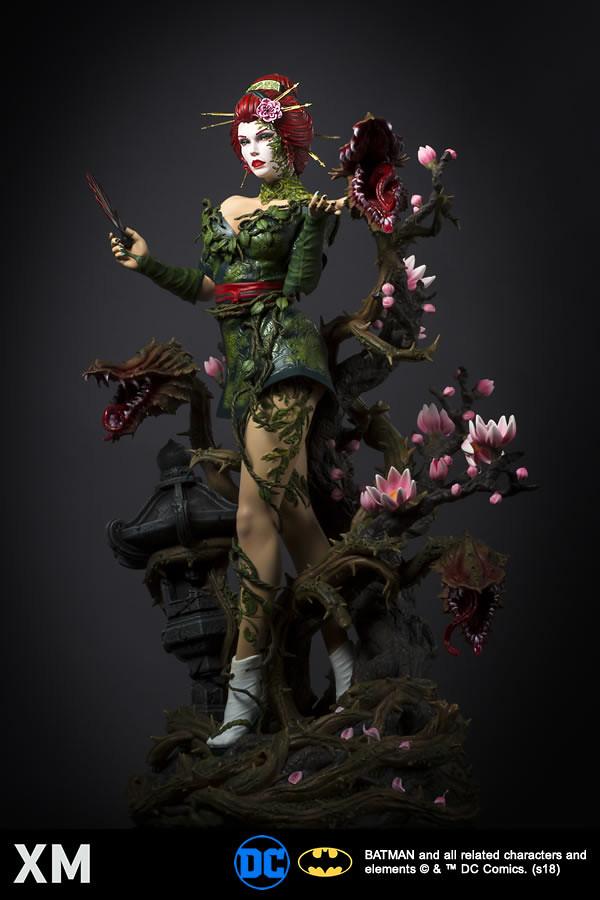 深深沉醉於她極致的妖艷魅力之中~! XM Studios Premium Collectibles DC Comics【毒藤女】Poison Ivy 1/4 比例全身雕像作品