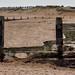 Broken sea defences.
