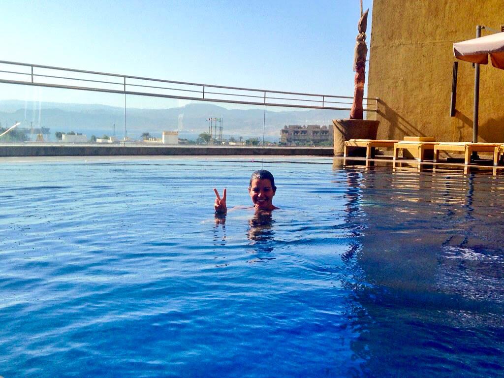 Hotel recomendado en Aqaba