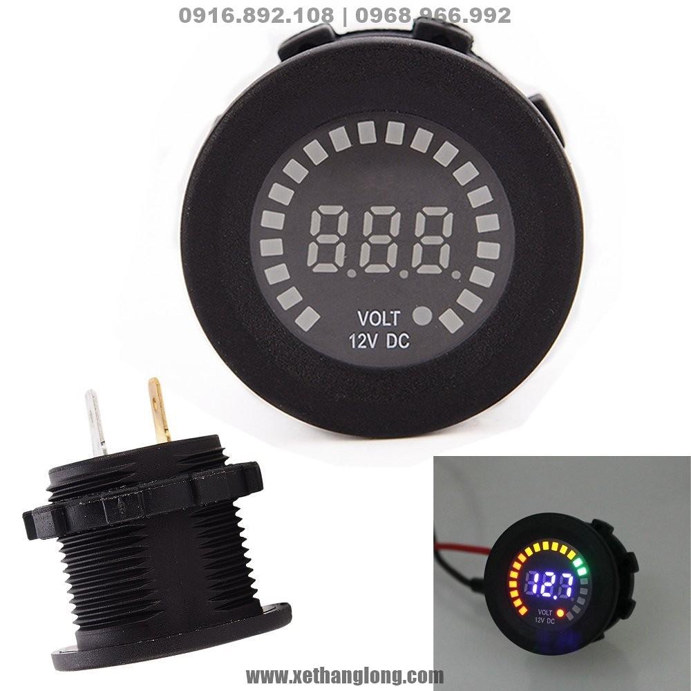Hình ảnh tổng quan về đồng hồ đo điện bình Ô tô, xe máy