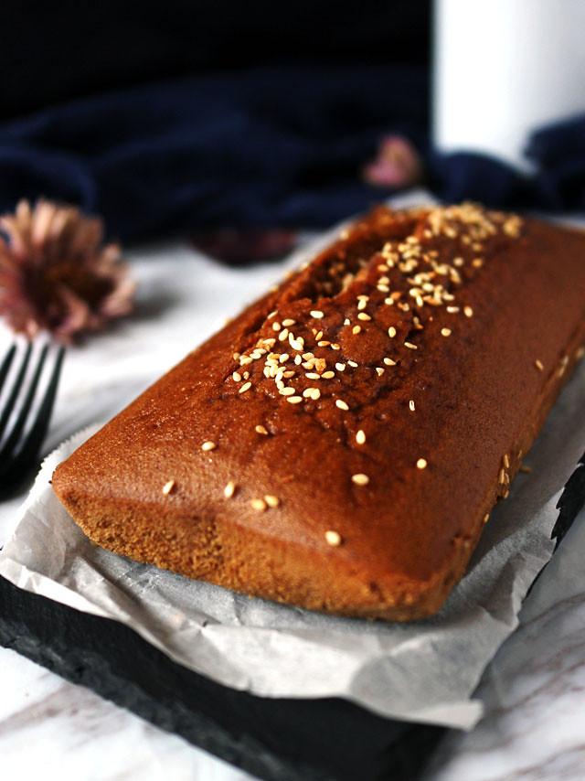 全素無麵粉黑糖糕 vegan-brown-sugar-cake (4)