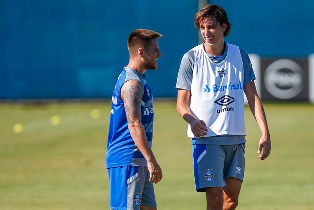 Treino Grêmio 10/02/18