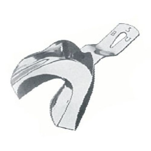 Impression Tray Inf B ,Bu, Toothed Lower Jaws, Unperforated, Fig. 1