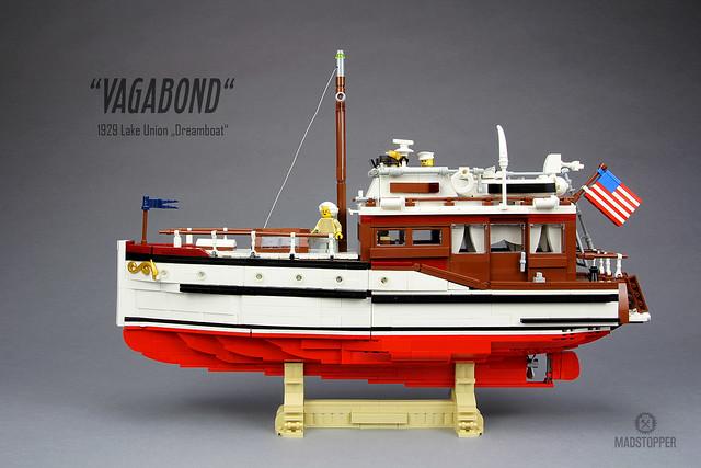"Lake Union Dreamboat ""Vagabond"""