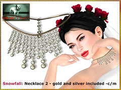 Bliensen - Snowfall - necklace 2