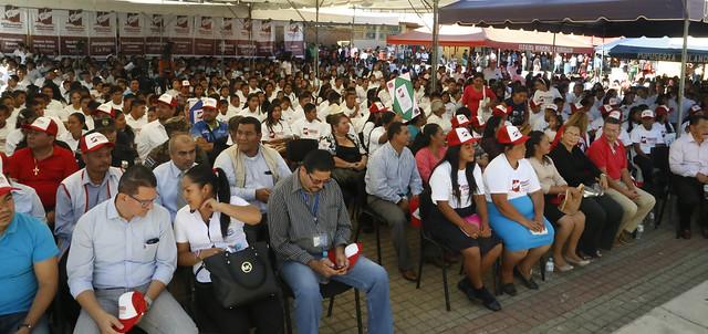 Juramentación de Voluntarios Alfabetizadores y Comisión Departamental de Nahuizalco, Sonsonate.
