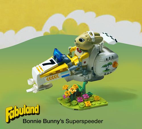 Bonnie Bunny's Superspeeder