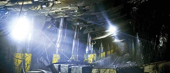 Светодиодное освещение в шахте