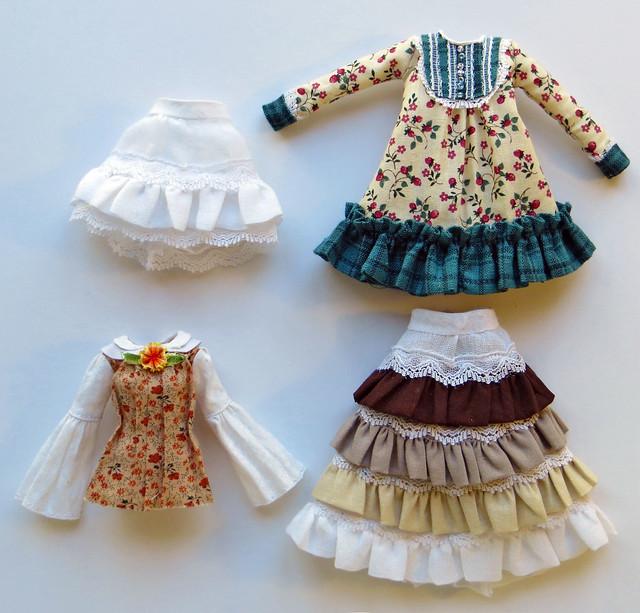 Mori style dresses