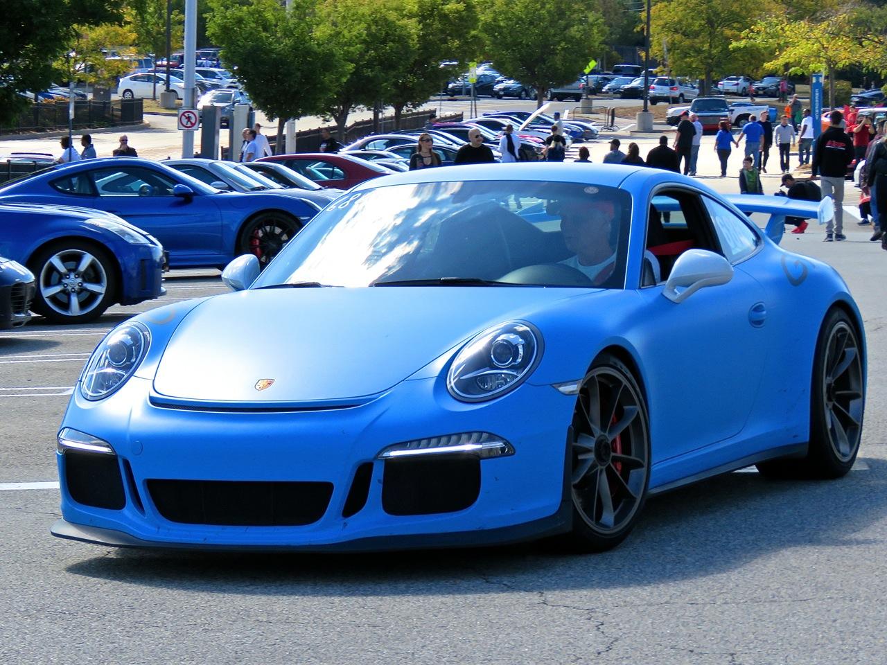 Porsche 991 GT3 Matte Blue