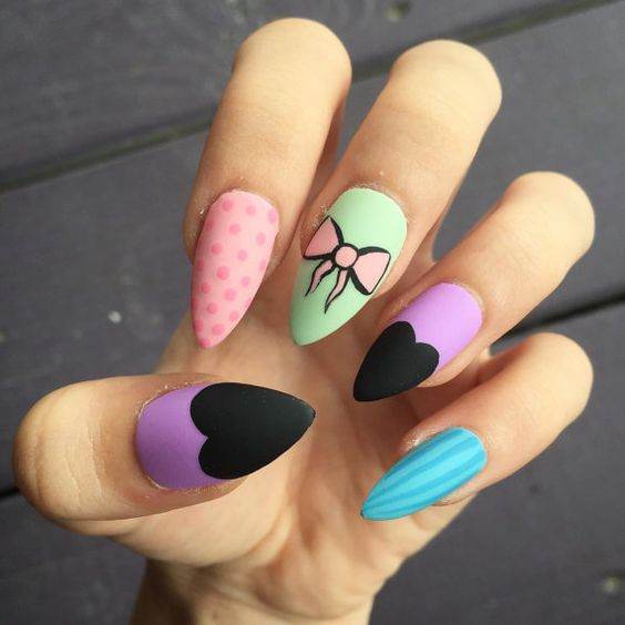 Easy Nail Art Designs And Ideas 2018-2019