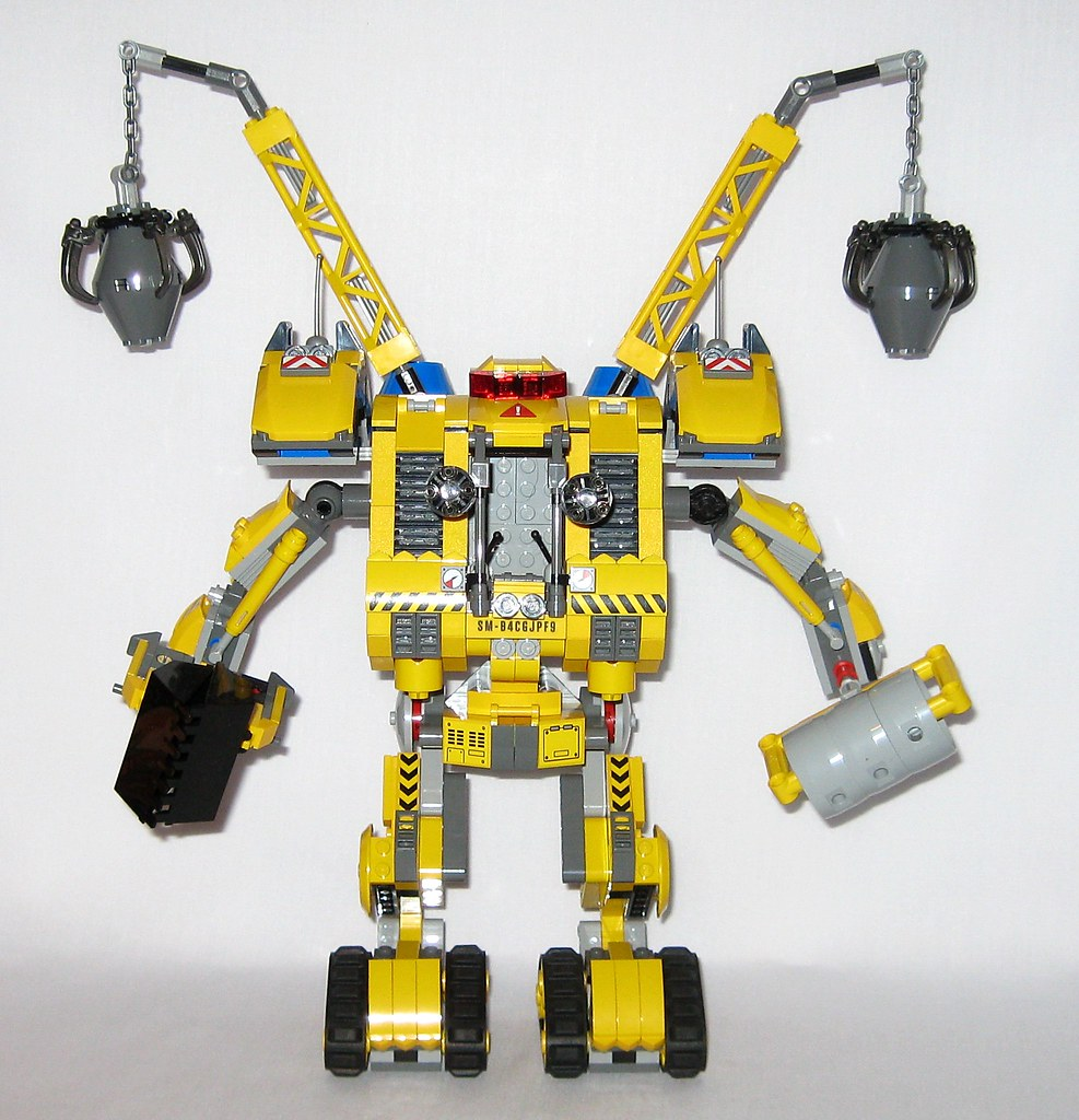 Lego 70814 The Lego Movie Emmets Construct O Mech 2014 D A Photo