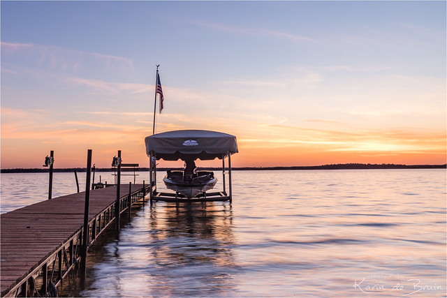 Sunset at Yellow Lake!