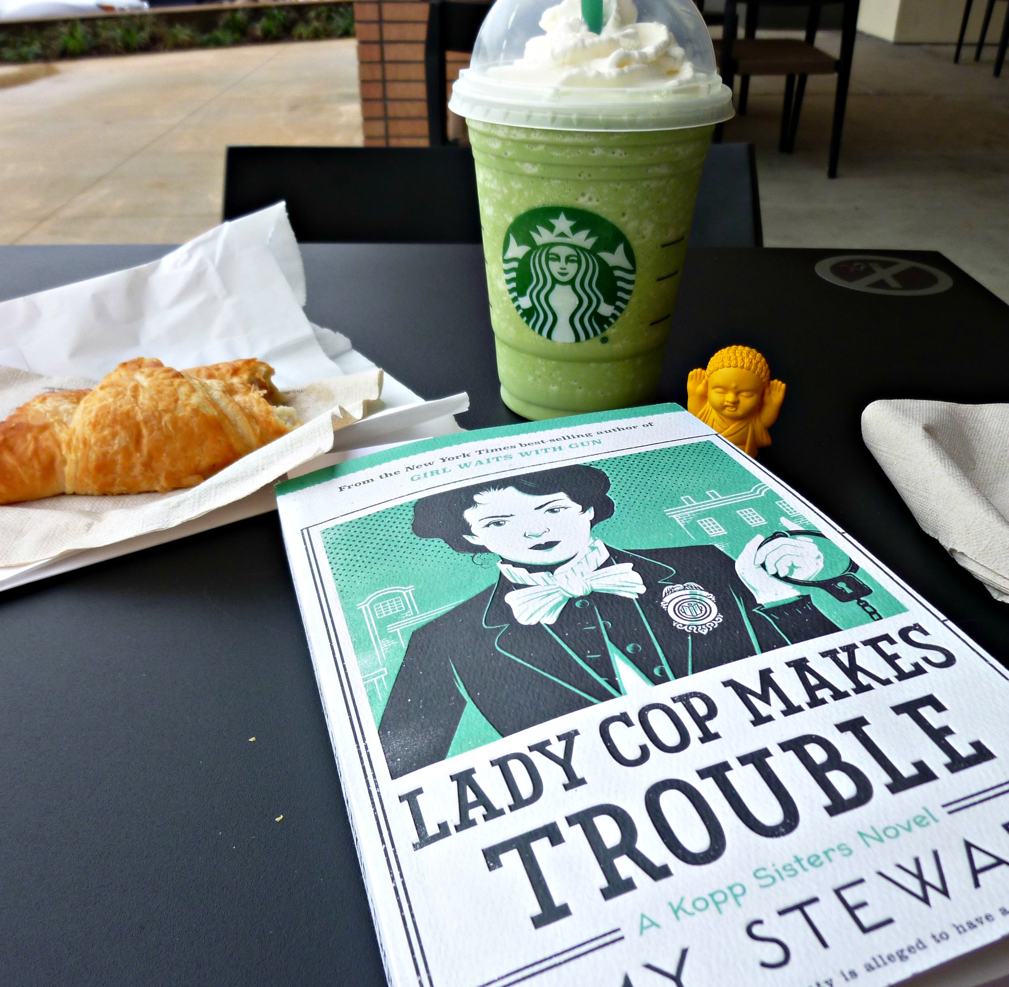 Book and Starbucks