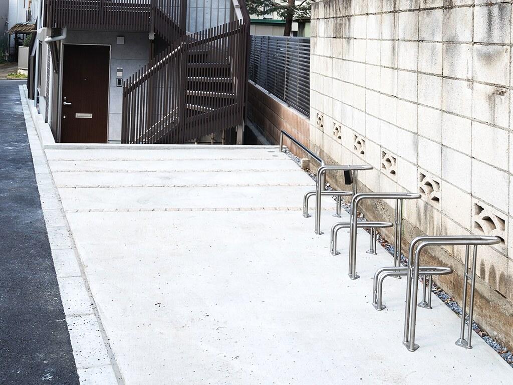 入居者の方専用の自転車置き場