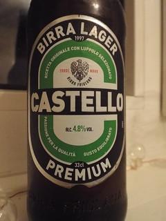 Castello, Premium Lager, Italy