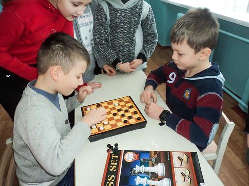 Шкільний турнір «Чудо шашки» 17.01.18