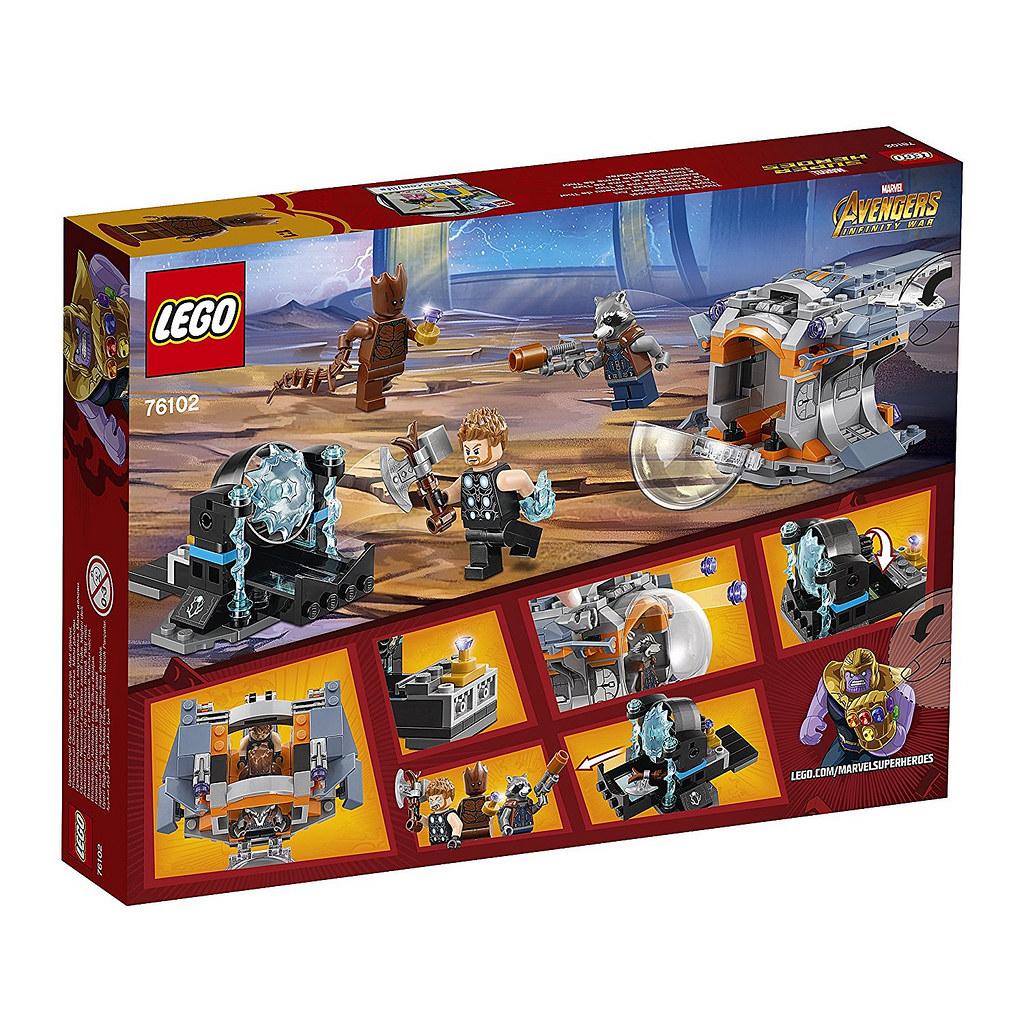 LEGO 2018 Marvel Infinity War set pictures | Candidbricks