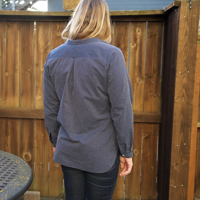 chambray Mila shirt_back