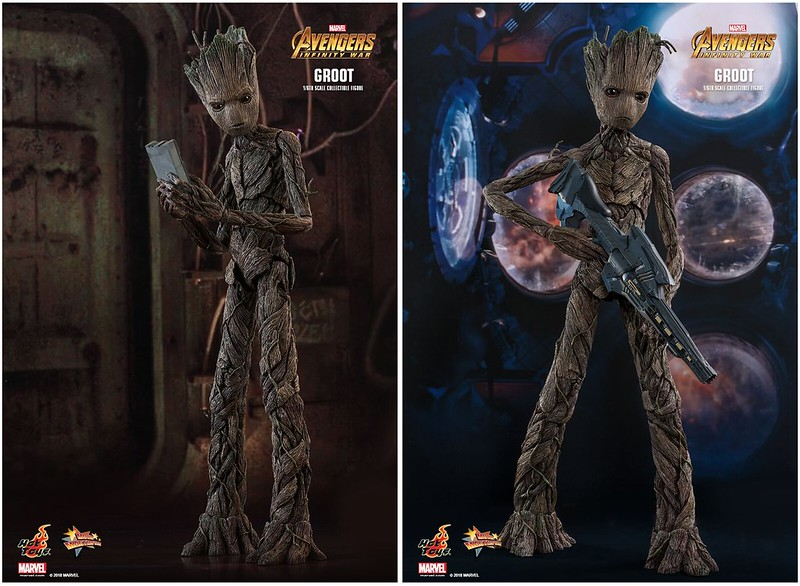 HOT TOYS TEEN GROOT 01