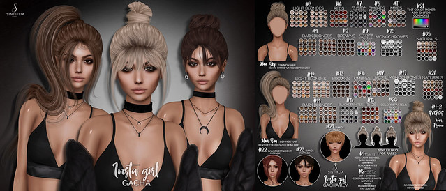 Insta girl hair gacha @The Epiphany