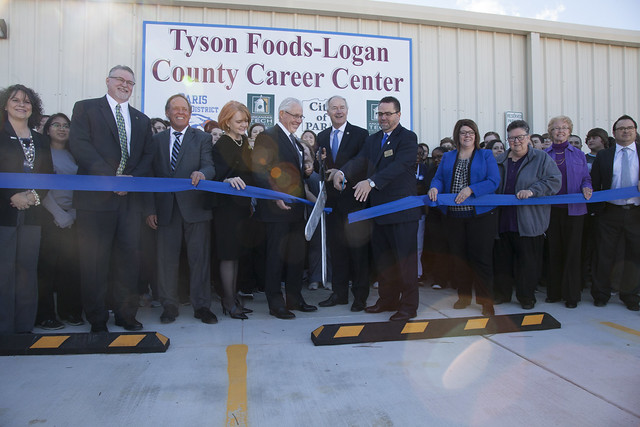 Tyson Foods Logan County Career Center Grand Opening 1/22/18