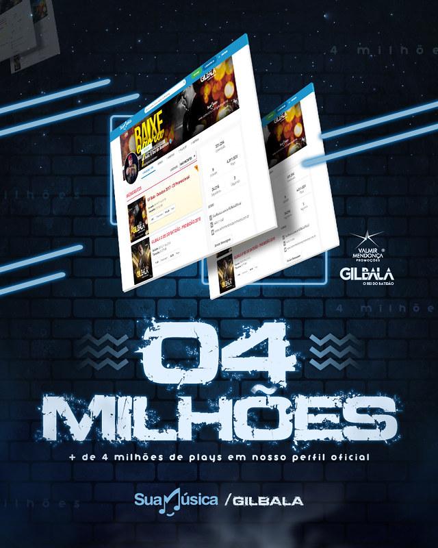 Gil Bala - 4 Milhões de Views - Perfil Sua Música