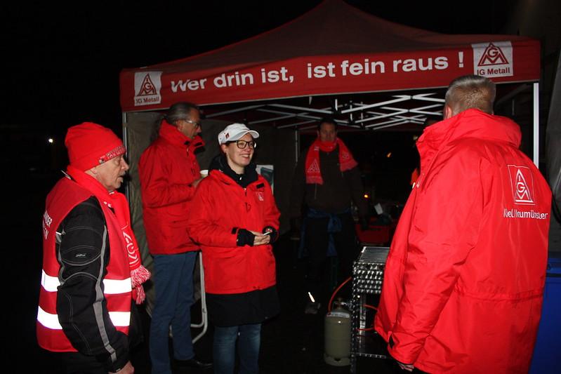 24-Stunden-Warnstreik bei GKN in Kiel