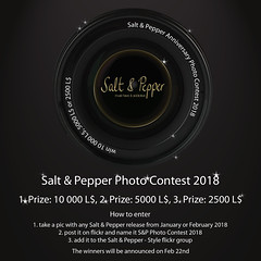 Salt & Pepper Anniversary Photo Contest 2018