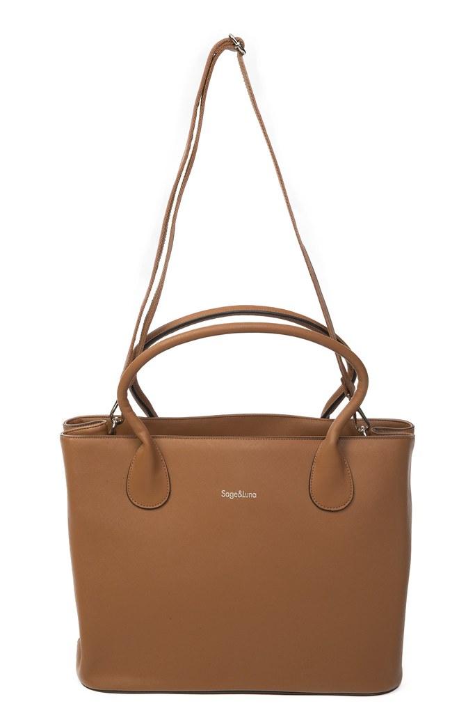 Designer Baby Bags - Rana Tan - Sage & Luna