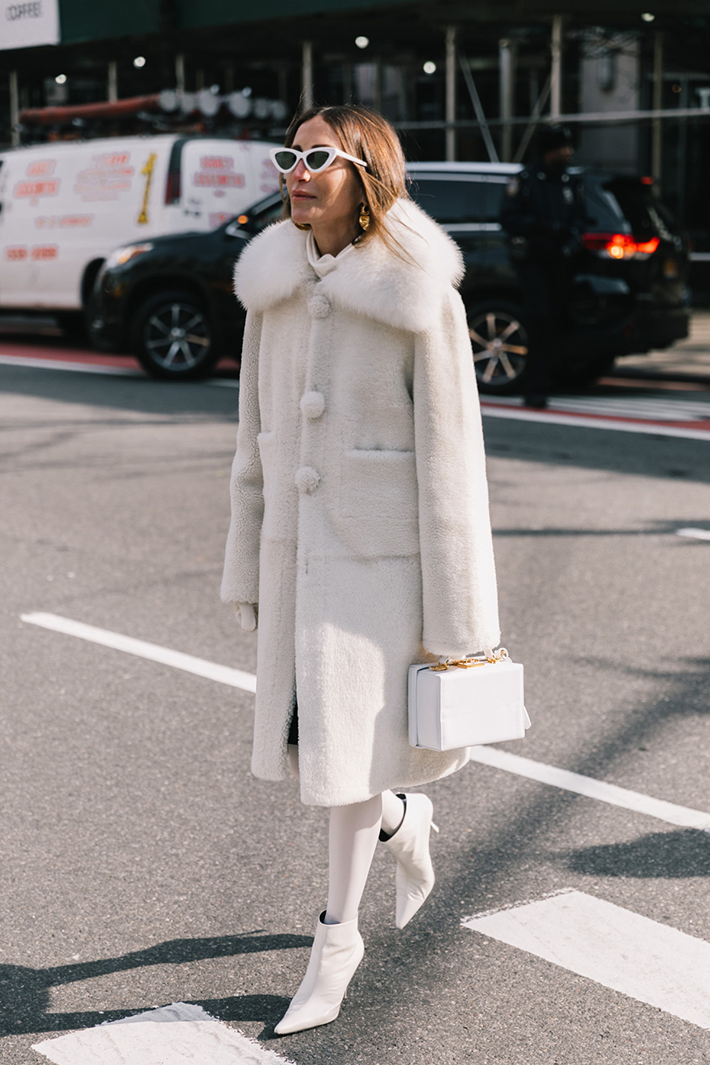 Best Street Style at New York Fashion Week Fall 2018 trend street style fashion outfit 20184