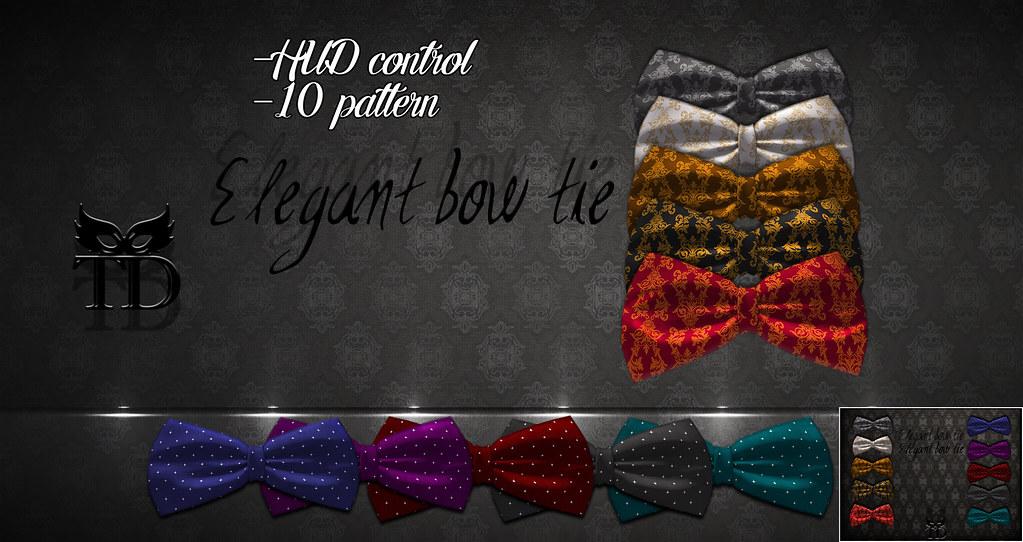 Elegant bow tie FATPACK
