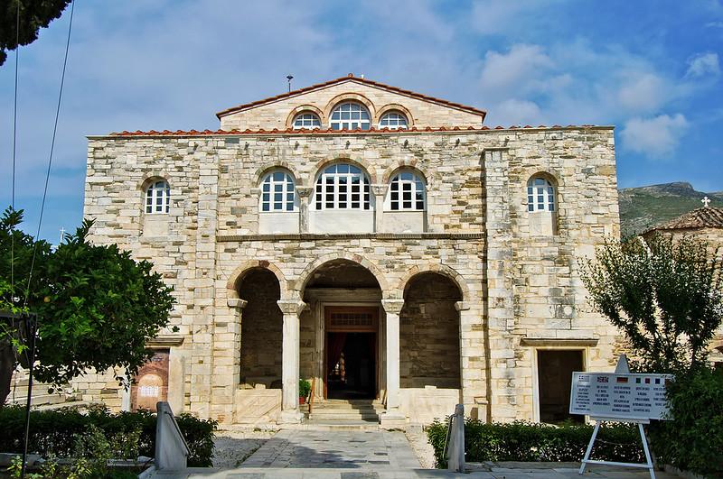· Qué ver en Paros ·· Iglesia bizantina Panagia Ekatontapiliani , Parikia ·