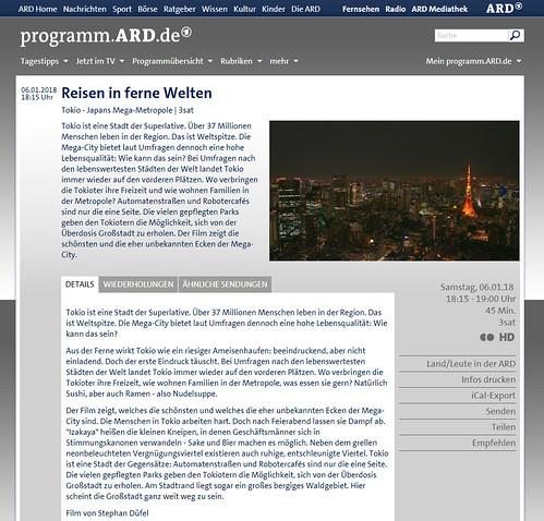 Reisen in ferne Welten   3sat   programm ARD de