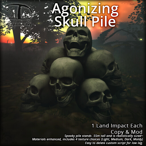 Agonizing Skull Pile – 25L$ weekly deal