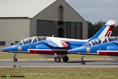 E134 0 F-TERM - E134 - Patrouille de France - French Air Force - Dassault-Dornier Alpha Jet E - RIAT 2010 Fairford - Steven Gray - IMG_9444