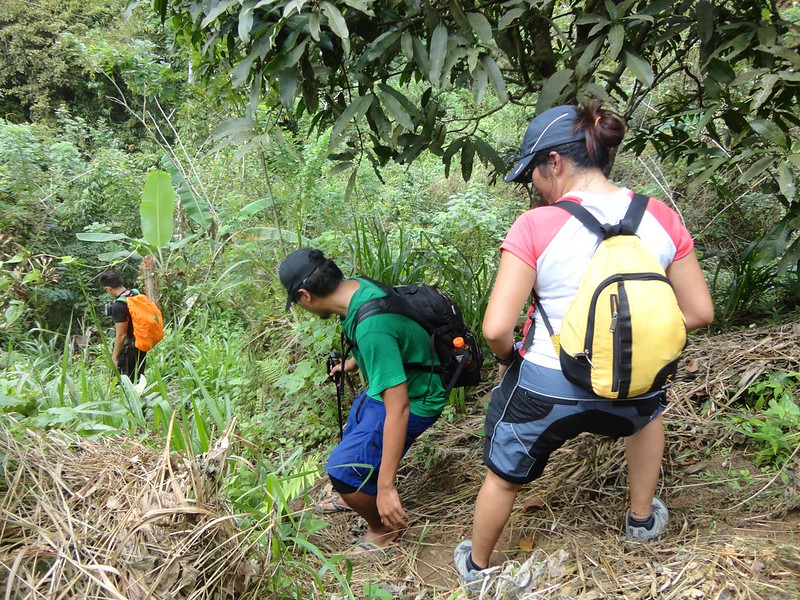 trail to Busay Lut-od